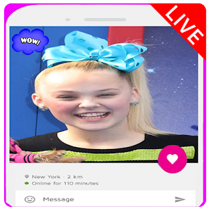 Live Chat Video With Jojo Siwa Prank For PC / Windows 7/8/10 / Mac – Free Download