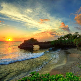 Pura Karang Bolong by Keril Doank - Landscapes Sunsets & Sunrises