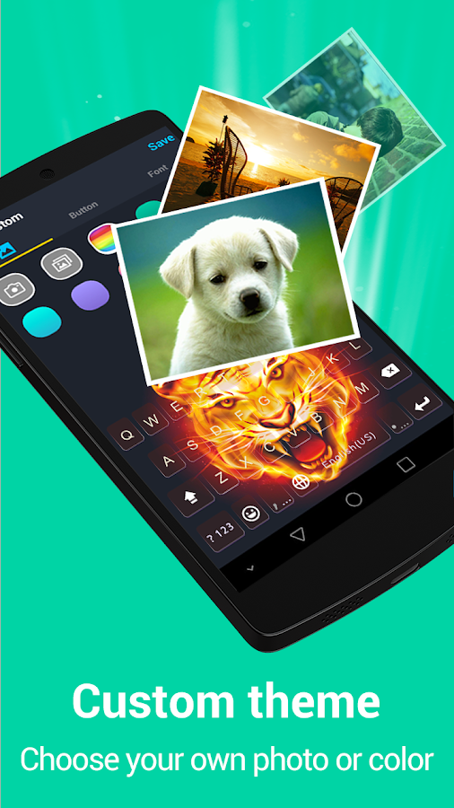 Kika Emoji Keyboard Pro + GIFs Screenshot 3