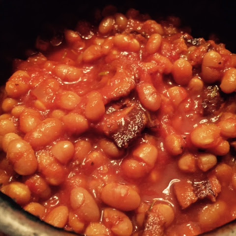'Hard to Resist Seconds' Baked Beans