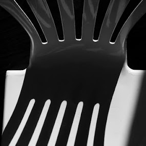 Twisted Fork by Jean Photo-Vigneault - Abstract Fine Art