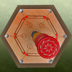 Carrom king 3D Icon
