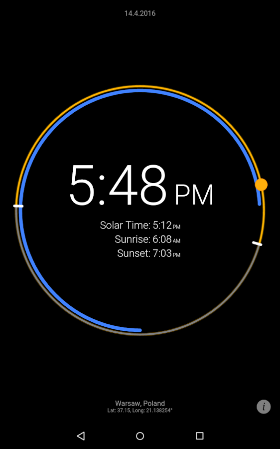 Sun Clock Screenshot 14