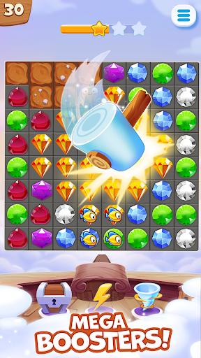 Pirate Treasures - Gems Puzzle screenshot 2