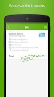 Screenshot of Prism Bills & Money