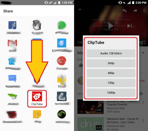ClipTube - screenshot