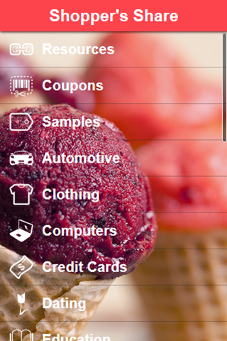 Shopper's Share Screenshot 0