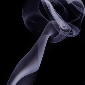 Up in Smoke  by Kate Anthony - Artistic Objects Other Objects ( black background, natural patterns, purple, smoke photography, smoke )