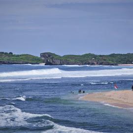 Java Beach. by Tofa Tofa - Landscapes Beaches ( sea, beach )