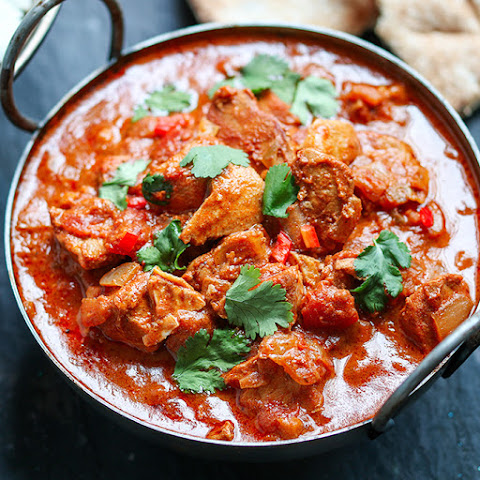 Slow-Cooked Spicy Chicken Curry