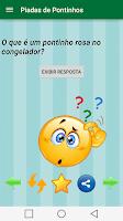 Screenshot of Piadas de Pontinhos