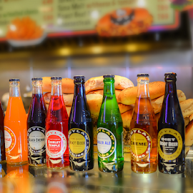 Bottled Drinks by Ferdinand Ludo - Food & Drink Alcohol & Drinks ( bagle store, goodies, pick your choice, deli, new jersey )