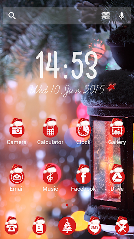 android Winter Tale - Solo Theme Screenshot 1