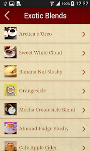 Star Coffee Secret Recipes - screenshot