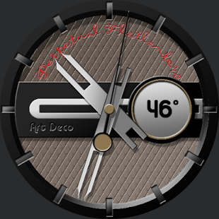 Art Deco for WatchMaker - screenshot