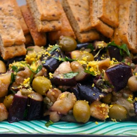 Eggplant with Lemon and Capers