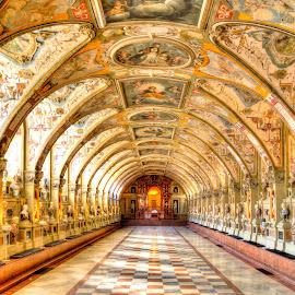Munich - Residence by Lukas Proszowski - Buildings & Architecture Public & Historical ( munich, building, ceiling, royal, germany, architecture, historic, room,  )