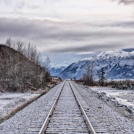by John Gore - Transportation Railway Tracks