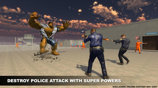 Monster Superhero Prison War For PC