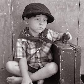 Little boy by Lize Hill - Babies & Children Child Portraits