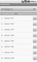 Screenshot of FINRA Series 7 Exam Prep