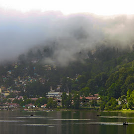 Foggy Air by Sanam Ahmed Khan - Landscapes Weather ( foggy, nature, intellihub, landscape photography, india, nainital )
