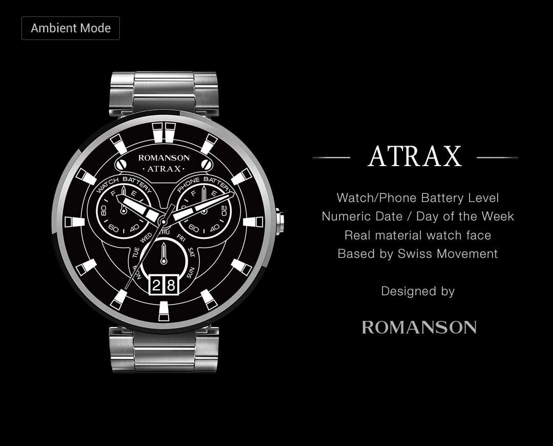 Atrax watchface by Romanson Screenshot 2