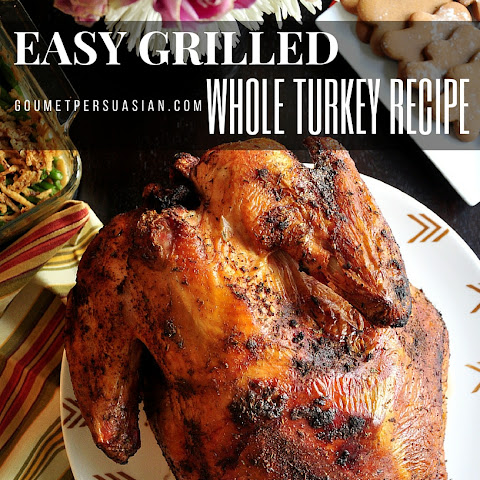 Easy Grilled Whole Turkey