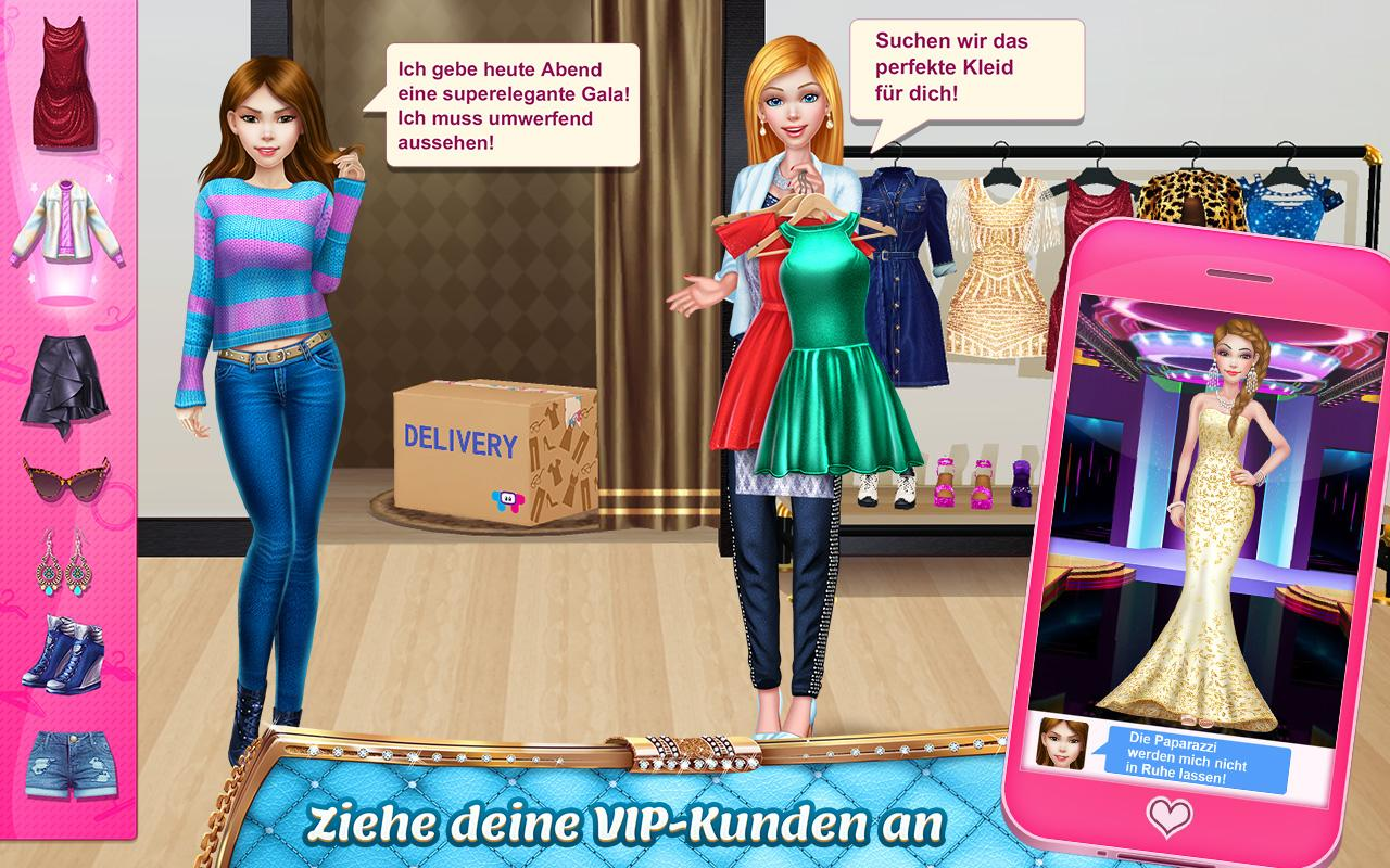 Stylist Girl - Machen Sie mich wunderschön! android apps download