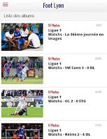 Screenshot of Foot Lyon