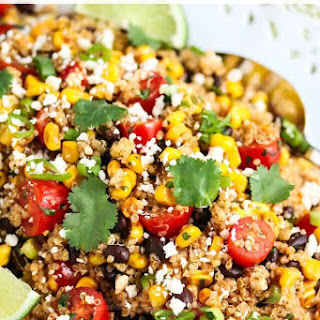 Mexican Corn Quinoa Salad