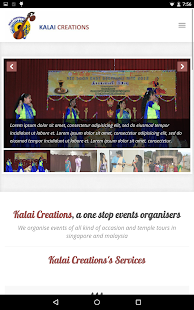 Kalai Creations - screenshot