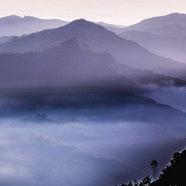 Above Us Only Sky.#kelimutu #flores #indonesia #exploreindonesia #travelogic .🙏😊🙏 Τнäиκ чöü äll lîκêrs*¨*•.¸¸♥♡☆ by Merah Saga - Landscapes Mountains & Hills
