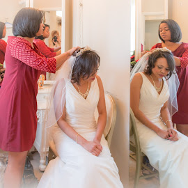 by Kathy Suttles - Wedding Getting Ready