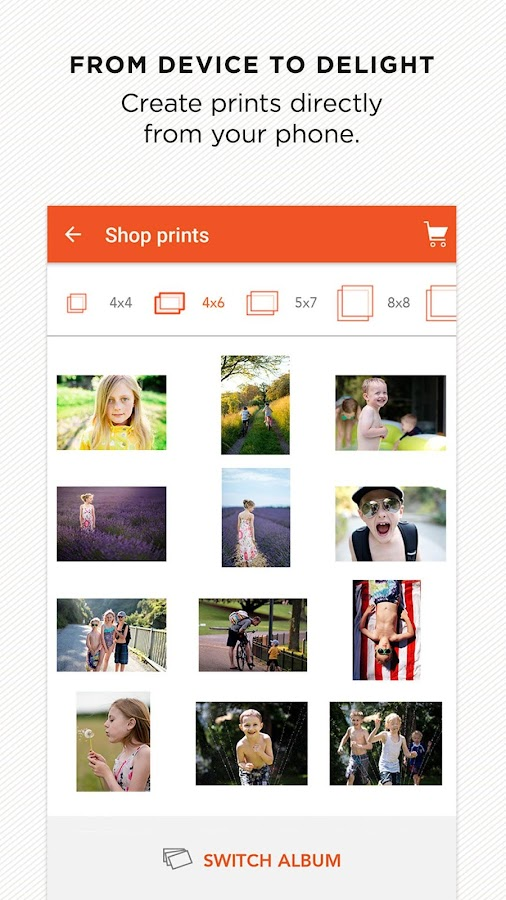 Shutterfly for Android Screenshot 2