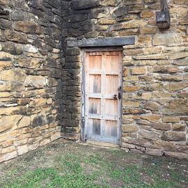 Wooden door.  by Luis Hernandez - Buildings & Architecture Architectural Detail