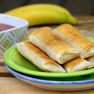 Fried Banana Lumpia Recipes