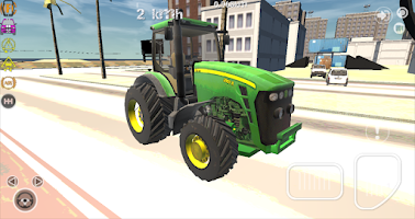 Screenshot of Construction Tractor Driver 3D