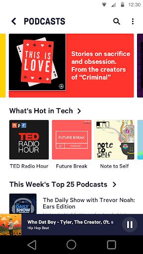 TuneIn: Stream NFL Radio, Music, Sports & Podcasts screenshot 4