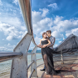 by Nalson Chong - Wedding Bride & Groom ( prewedding, wedding, portrait, malaysia, people, perak )