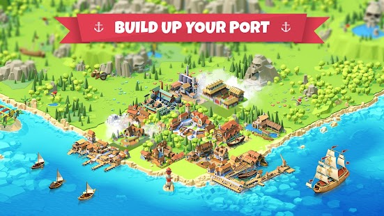 Seaport - Explore, Collect & Trade for pc