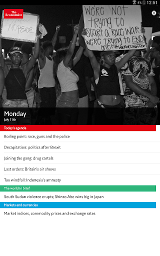 The Economist Espresso - screenshot