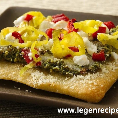 Tapenade Flatbread Appetizers