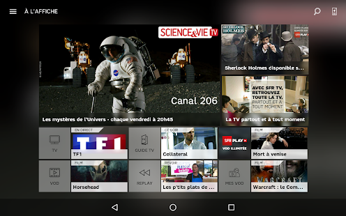 SFR TV APK for Blackberry  Download Android APK GAMES & APPS for ...