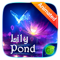 Free Lily Pond Animated Go Keyboard Theme APK for Windows 8