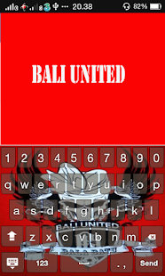 Go Bali Keyboard - screenshot