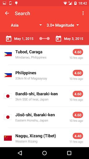 My Earthquake Alerts Pro - screenshot