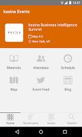 Screenshot of kasina Events