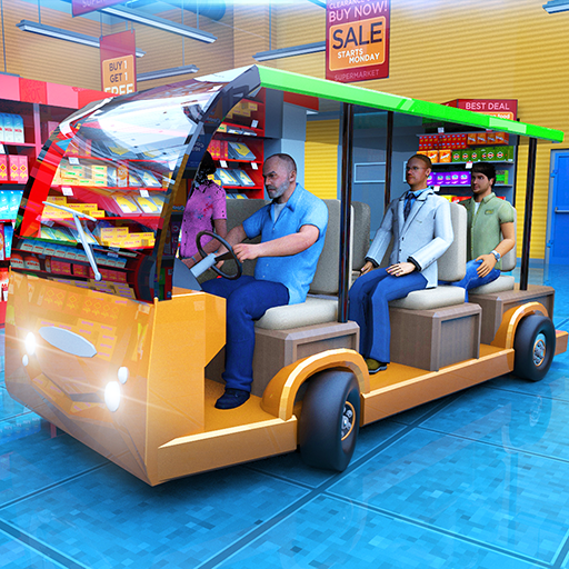 Android aplikacija Shopping Mall Radio Taxi Driving: Supermarket Game na Android Srbija
