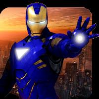 Grand Iron Superhero Flying Robot Rescue Mission For Laptop PC (Windows10,7,XP/Mac)